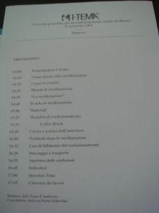 Il programma del corso sul confezionamento